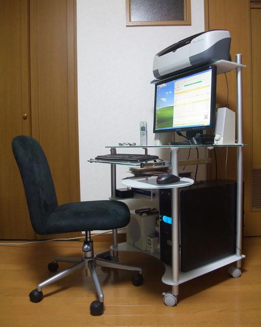 20091122PCデスク 1