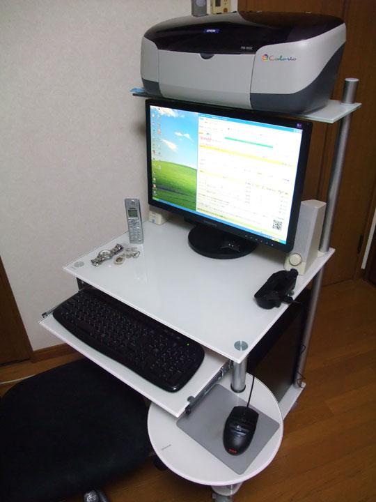 20091122PCデスク 2
