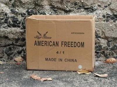 アメリカの自由は中国がつくっとんかい