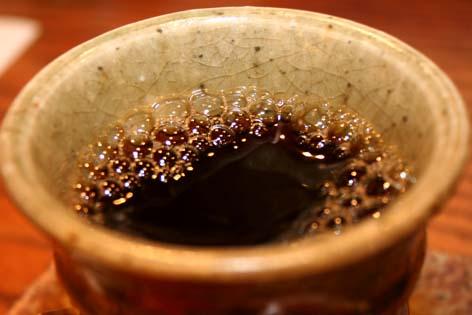 会社とどっこいの味だが、コーヒーは外せない