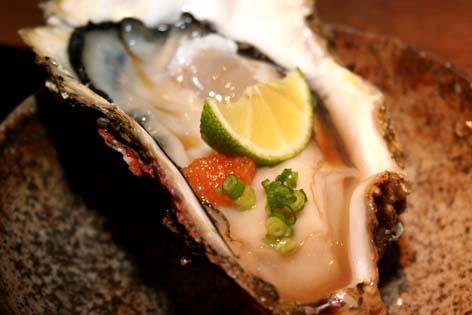 昼から牡蠣は贅沢な気分