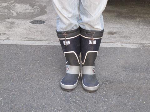 散歩用ブーツ