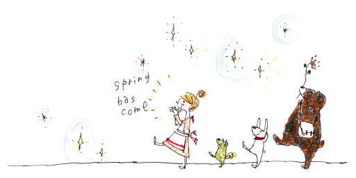 春ですillust-springhascome-5