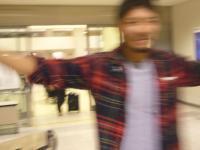 一人在空港