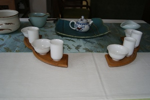 東方美人の茶席