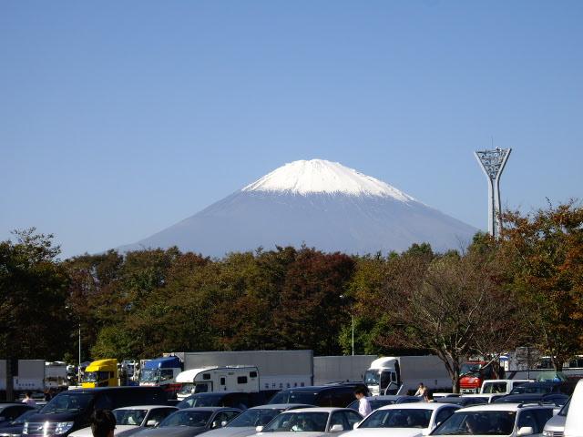 富士山キレイ~