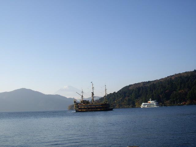 海賊船来たよ