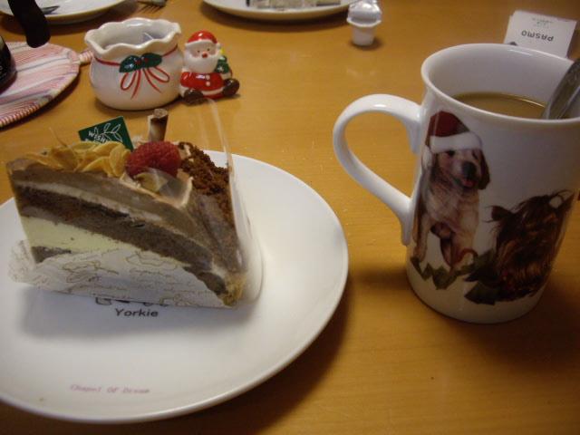 ケーキもしっかり食べちゃった