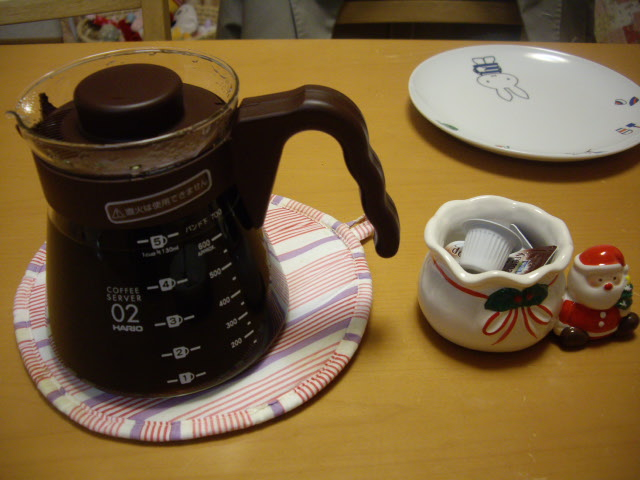 コーヒー入れました~