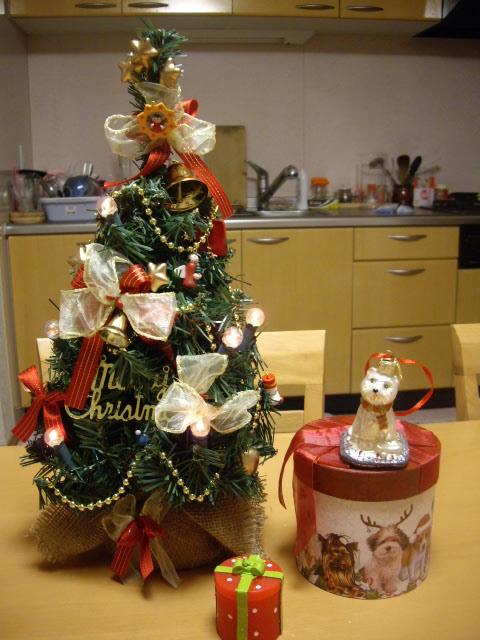 我家のクリスマスツリー
