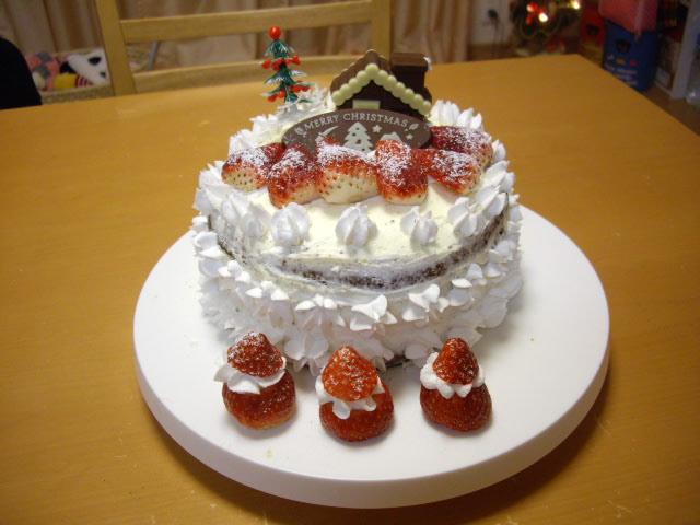 イチゴのケーキ