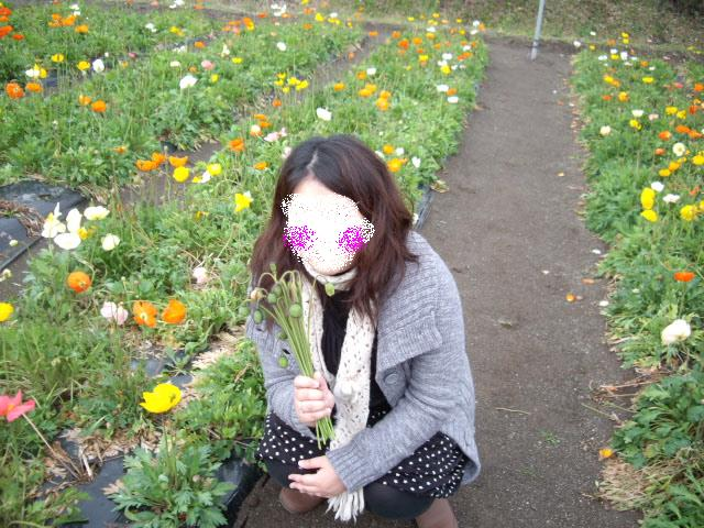 コピー ~ お花摘み楽しいね