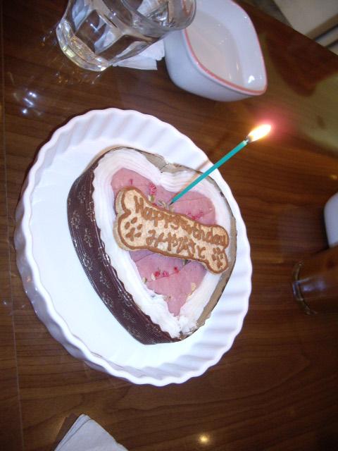 みやちゃんさとちゃんバースディーケーキ