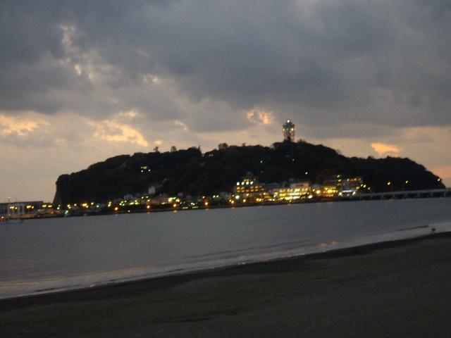 江ノ島もきれい
