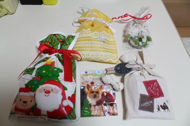 クリスマスプレゼントいっぱい有難う