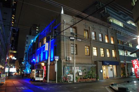 伏見ビルライトアップ1