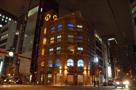 生駒ビルライトアップ15