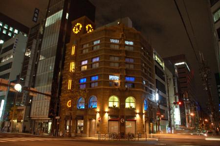 生駒ビルライトアップ14
