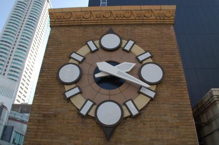 生駒ビル 時計塔
