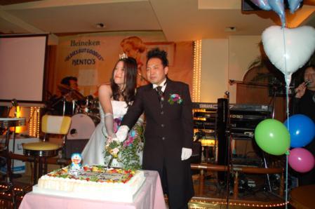 アレンさん結婚披露宴11