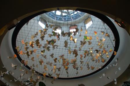 ジャングル大帝展ガラスの地球