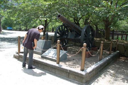 小倉城砲台
