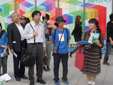 手塚治虫を歩く 大阪市立科学館2