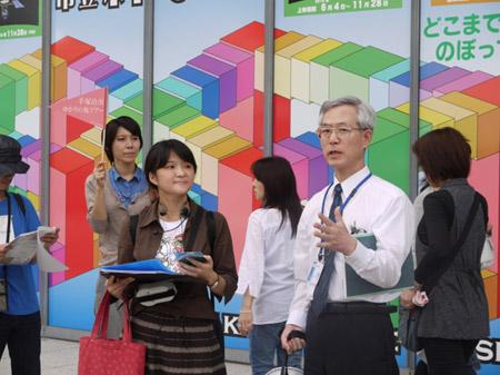 手塚治虫を歩く 大阪市立科学館3
