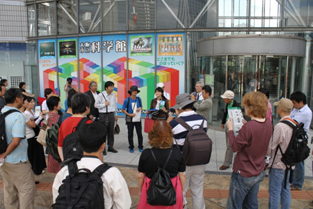 手塚治虫を歩く 大阪市立科学館6