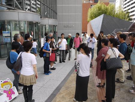 手塚治虫を歩く 大阪市立科学館1