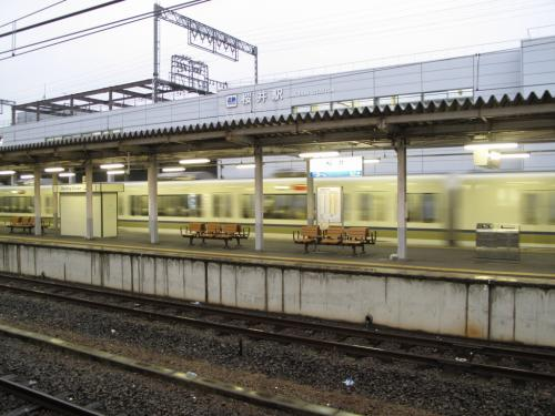JR桜井駅にて