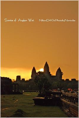 Sunrise of  Angkor Wat2