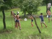 竹水てっぽう合戦