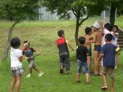 竹水てっぽう合戦3