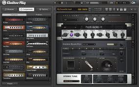 guitar rig 画面