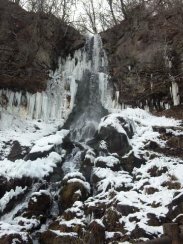 111229千ヶ滝(氷瀑)