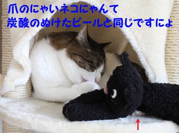 爪のにゃいネコにゃんて