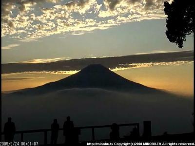 2009/09/24の富士山