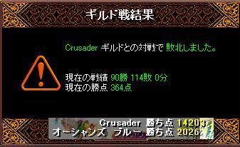 11月6日「Crusader」