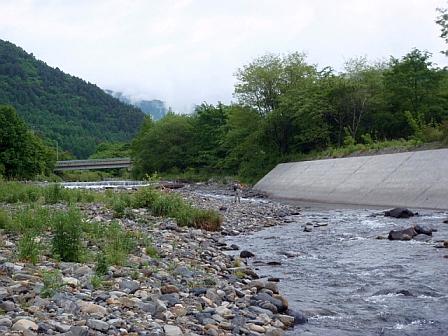 早朝の末川