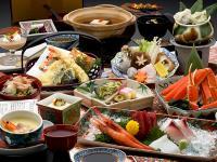 北陸加賀山代温泉ゆのくに天祥の会席料理