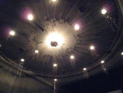 天井の内装はこんな感じ