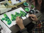 アニメーション背景で樹木の描き方を学んでます4