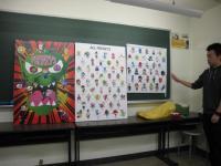 キャラクターを120種類創作した学生もいます