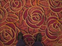 ウェスチィンホテル「ソノーラ」の絨毯はふかふか