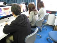 501教室でアニメ制作2