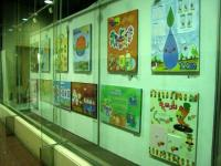 2009年度学生、学年末課題作品の抜粋展示です。2