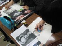 写真模写鉛筆デッサン2