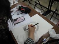 写真模写鉛筆デッサン3