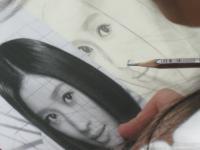 写真模写鉛筆デッサン4